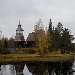 Yksi Unescon maailmanperintökohteista on Petäjäveden vanha kirkko